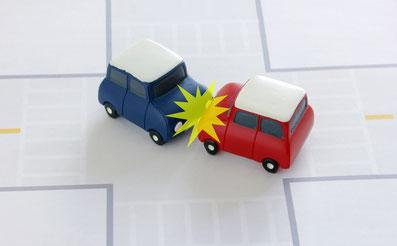 交通事故模型写真