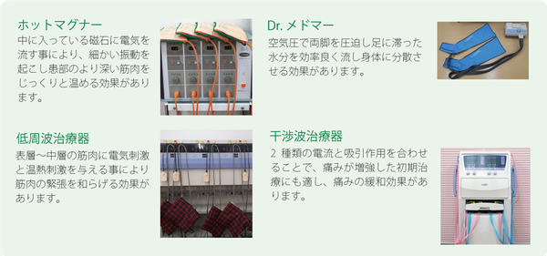 治療器紹介画像